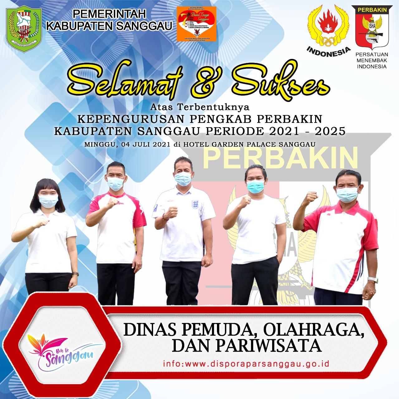 Persatuan Penembak Indonesia (PERBAKIN) Kabupaten Sanggau